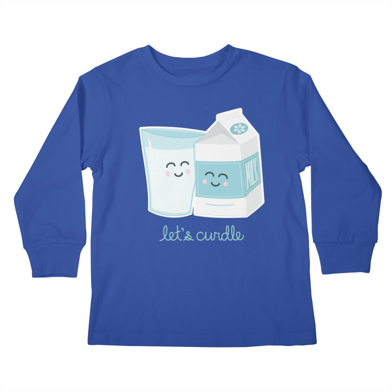 Let's Curdle Kids Longsleeve T-Shirt by Calobee Doodles