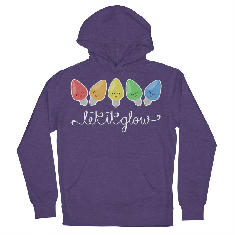 Let It Glow Men's Pullover Hoody by Calobee Doodles