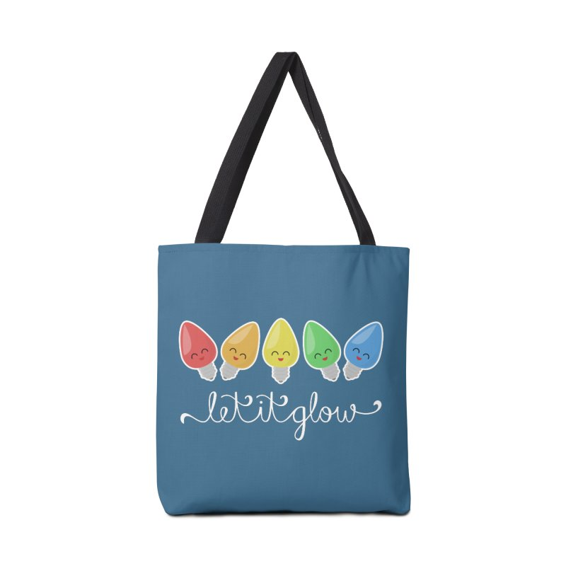 Let It Glow Accessories Bag by Calobee Doodles