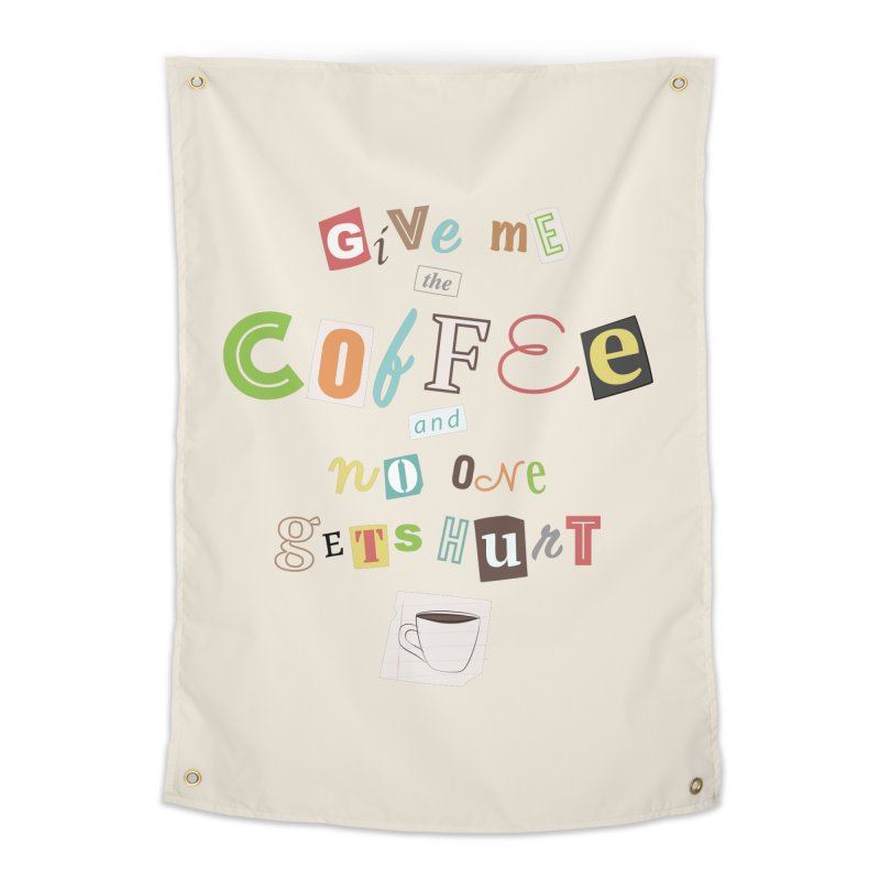 A Ransom Note for Morning - Light Home Tapestry by Calobee Doodles