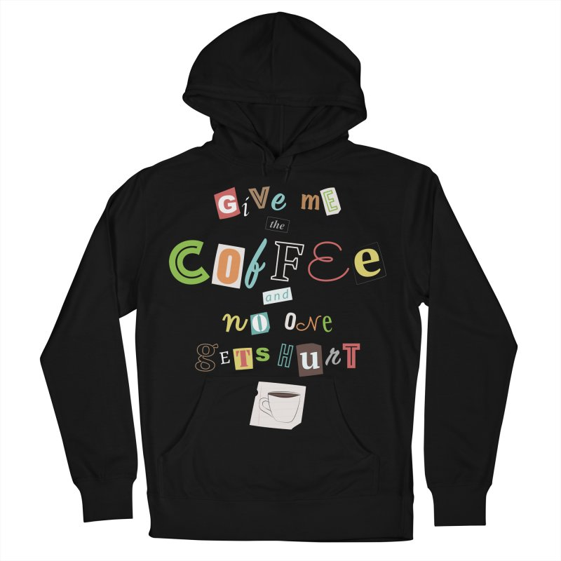 A Ransom Note for Morning - Dark Women's Pullover Hoody by Calobee Doodles