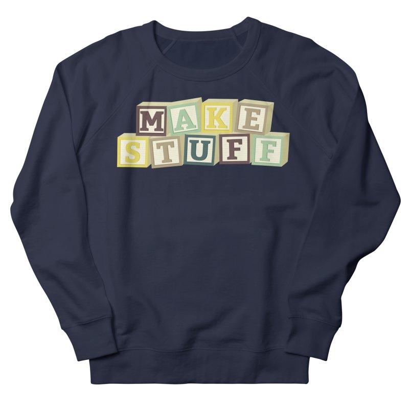Make Stuff - Brown Women's Sweatshirt by Calobee Doodles