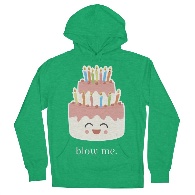 blow me. Men's Pullover Hoody by Calobee Doodles