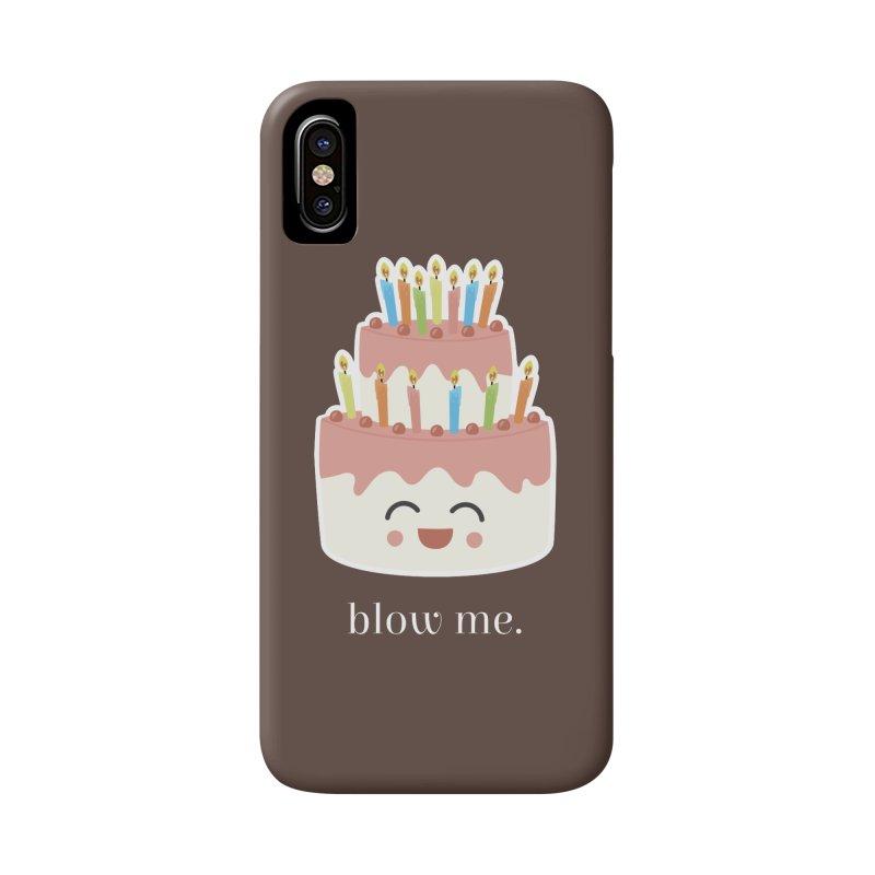 blow me. Accessories Phone Case by Calobee Doodles
