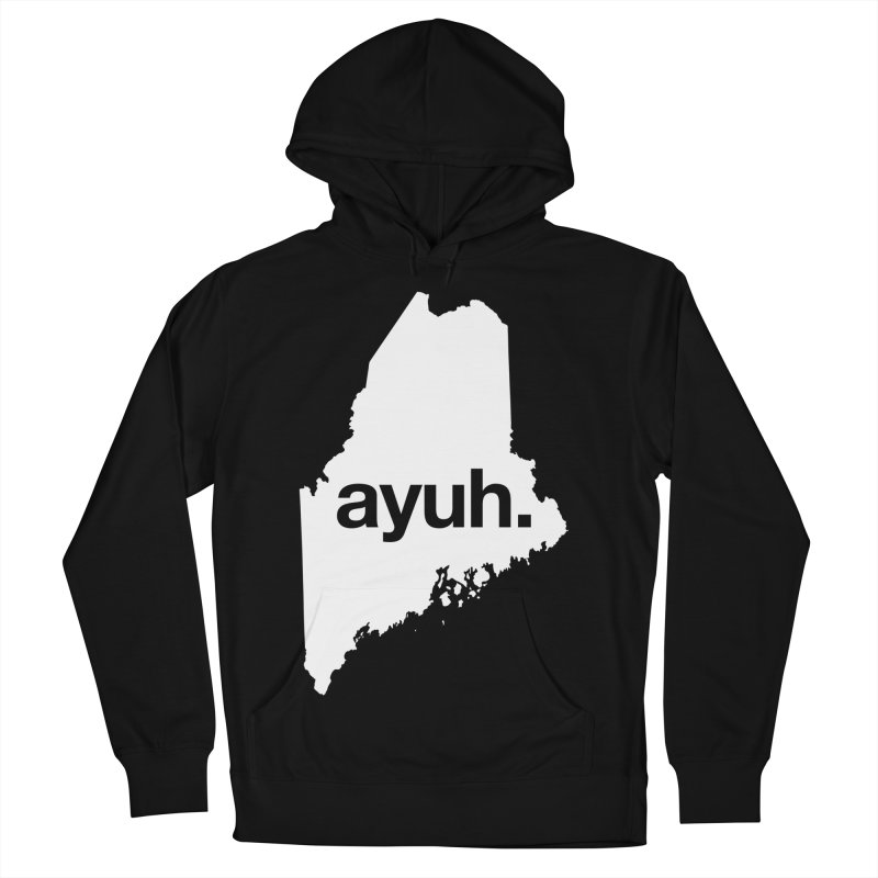 Ayuh - The Maine Word Women's Pullover Hoody by Calobee Doodles