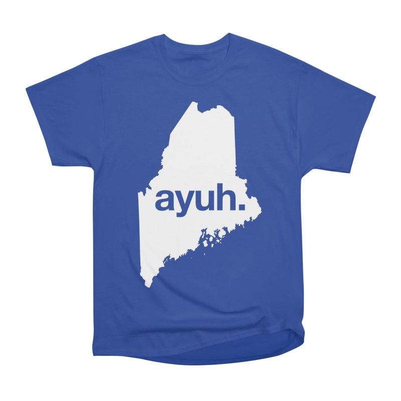 Ayuh - The Maine Word Men's Classic T-Shirt by Calobee Doodles