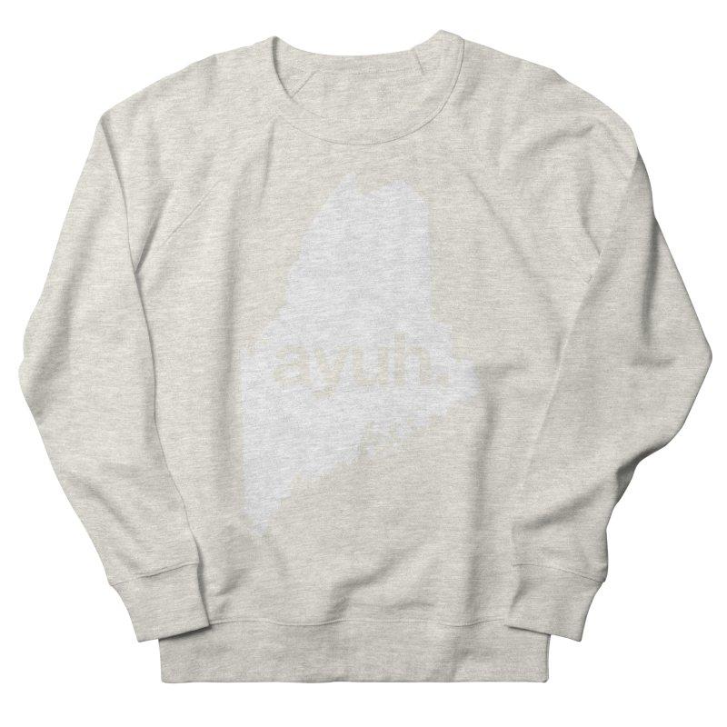 Ayuh - The Maine Word Women's Sweatshirt by Calobee Doodles