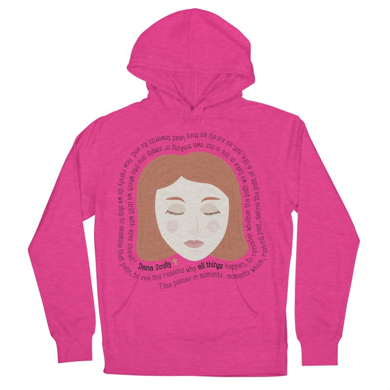 Dana Scully - The X-Files Quote - all things Men's Pullover Hoody by Calobee Doodles