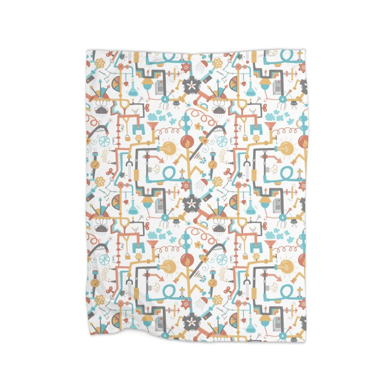 Pipe Dreams Home Blanket by Calobee Doodles