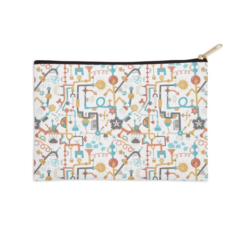 Pipe Dreams Accessories Zip Pouch by Calobee Doodles