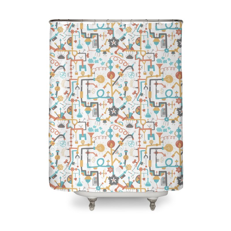 Pipe Dreams Home Shower Curtain by Calobee Doodles