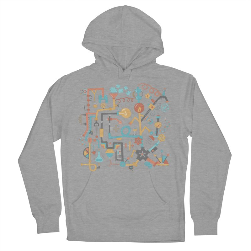 Pipe Dreams Men's Pullover Hoody by Calobee Doodles