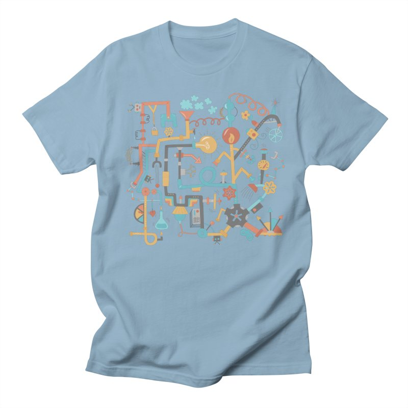 Pipe Dreams Women's Regular Unisex T-Shirt by Calobee Doodles