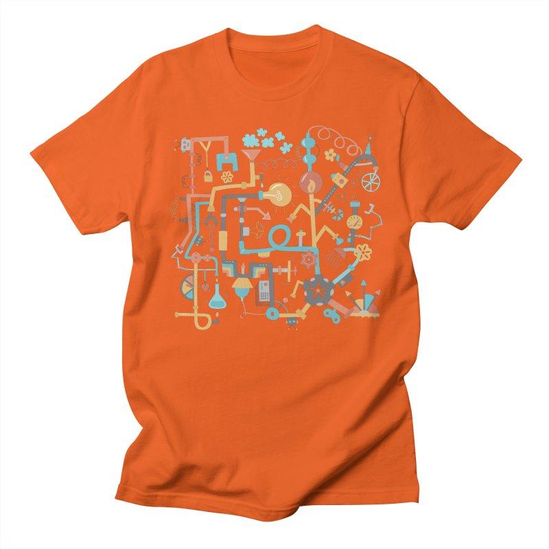Pipe Dreams Men's Regular T-Shirt by Calobee Doodles