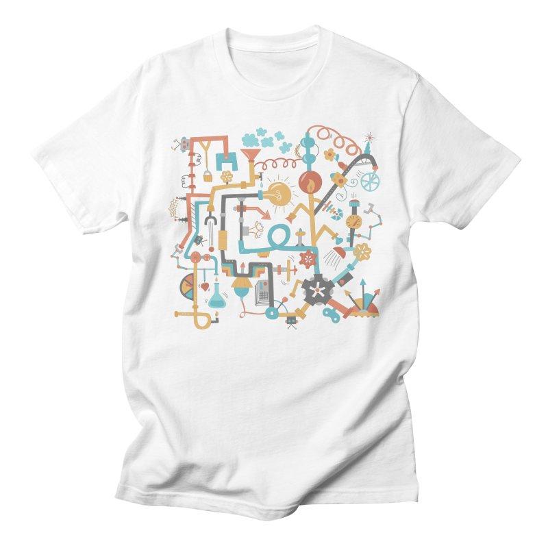 Pipe Dreams Women's Regular Unisex T-Shirt by Calobee Doodles