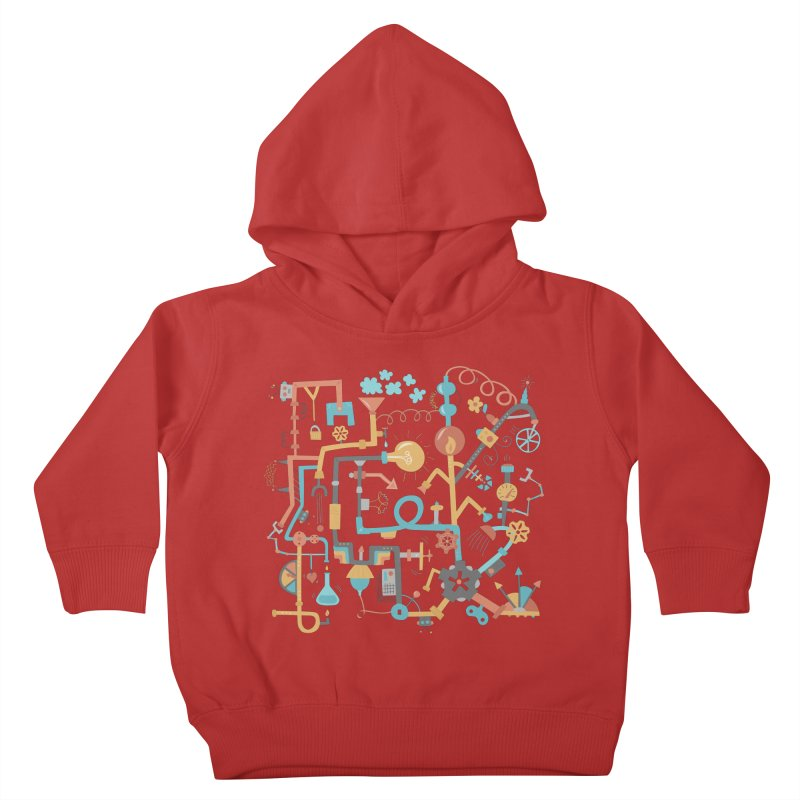 Pipe Dreams Kids Toddler Pullover Hoody by Calobee Doodles