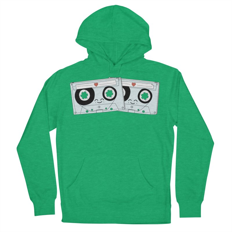 Let's Mix it Up Women's French Terry Pullover Hoody by Calobee Doodles