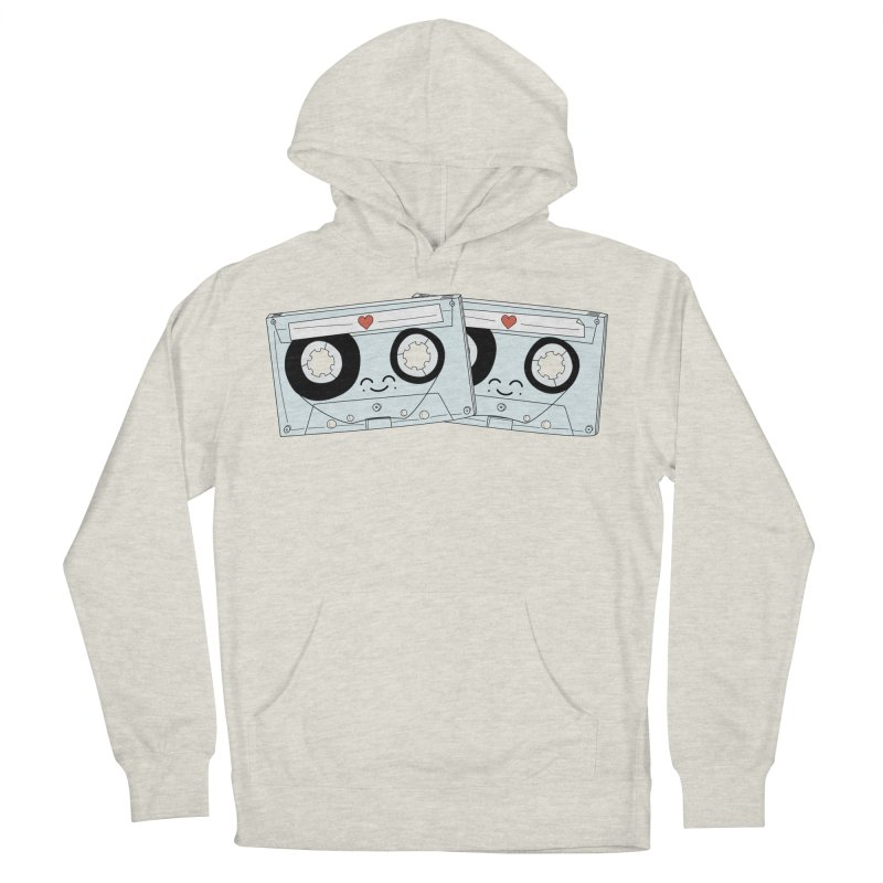 Let's Mix it Up Men's French Terry Pullover Hoody by Calobee Doodles