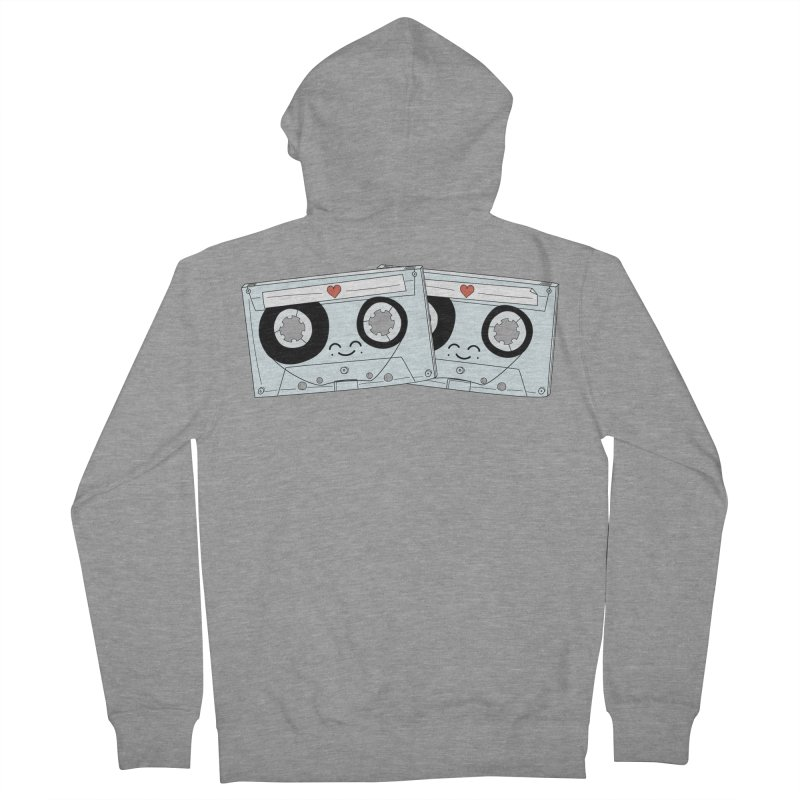 Let's Mix it Up Women's French Terry Zip-Up Hoody by Calobee Doodles