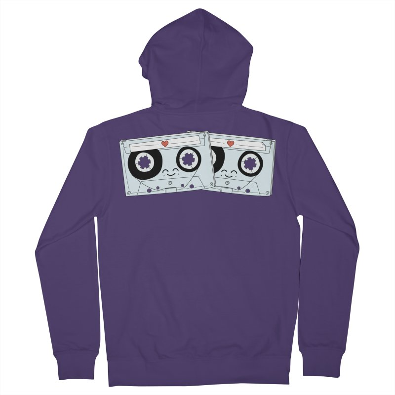 Let's Mix it Up Women's Zip-Up Hoody by Calobee Doodles