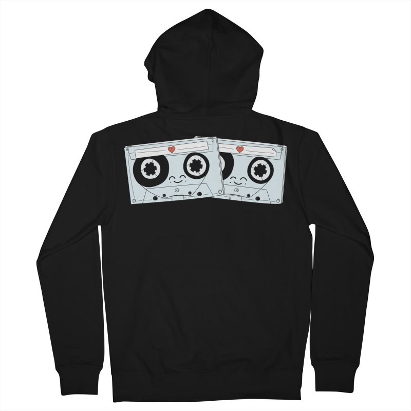 Let's Mix it Up Men's Zip-Up Hoody by Calobee Doodles