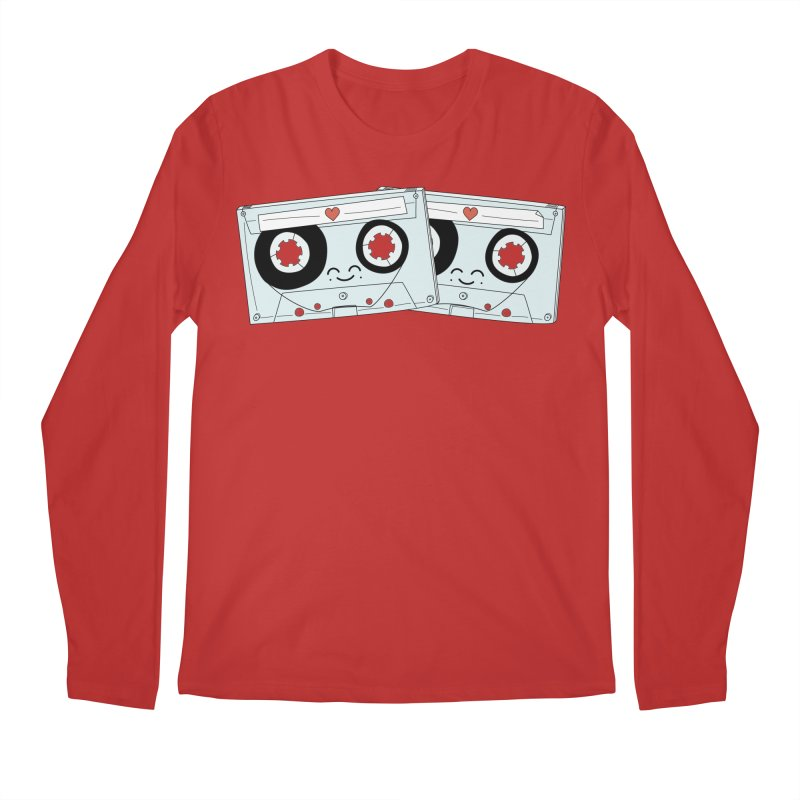Let's Mix it Up Men's Regular Longsleeve T-Shirt by Calobee Doodles