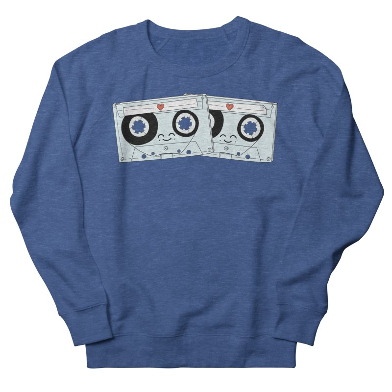 Let's Mix it Up Men's French Terry Sweatshirt by Calobee Doodles