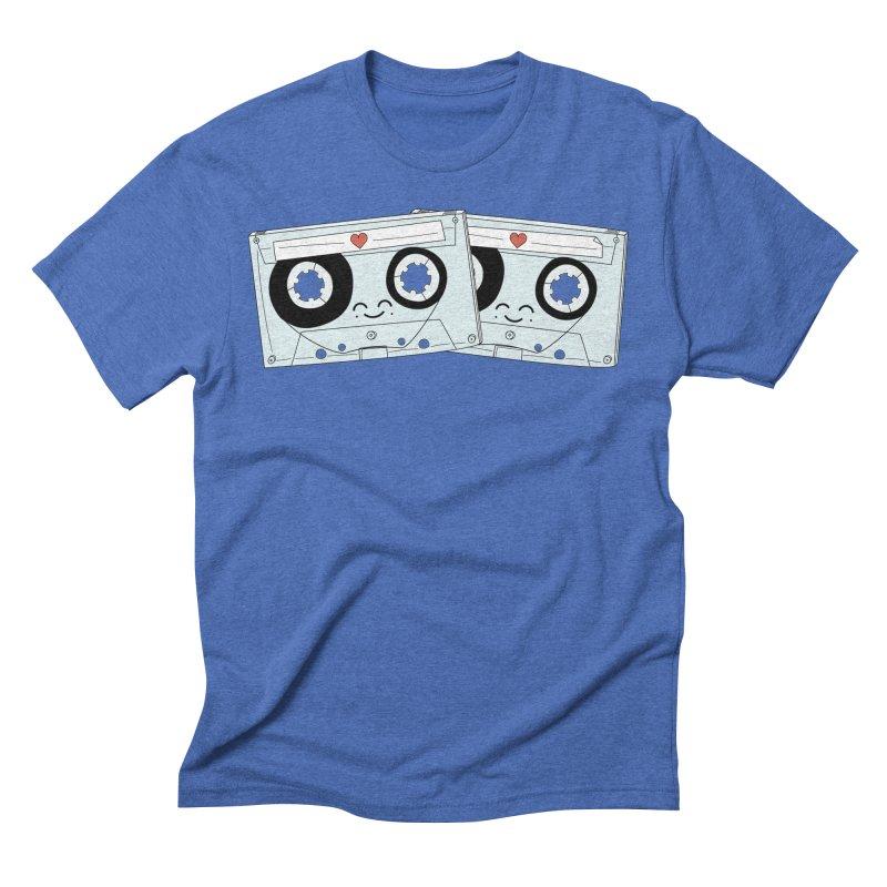 Let's Mix it Up Men's Triblend T-Shirt by Calobee Doodles