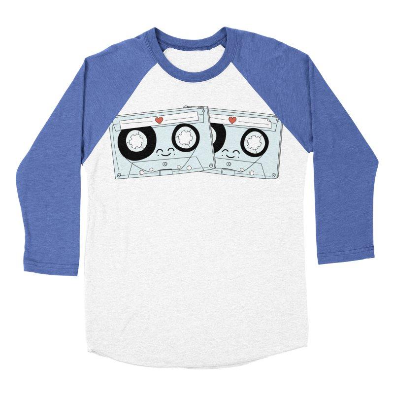 Let's Mix it Up Women's Baseball Triblend Longsleeve T-Shirt by Calobee Doodles