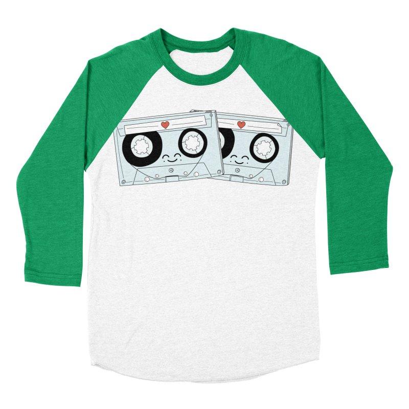 Let's Mix it Up Men's Baseball Triblend Longsleeve T-Shirt by Calobee Doodles