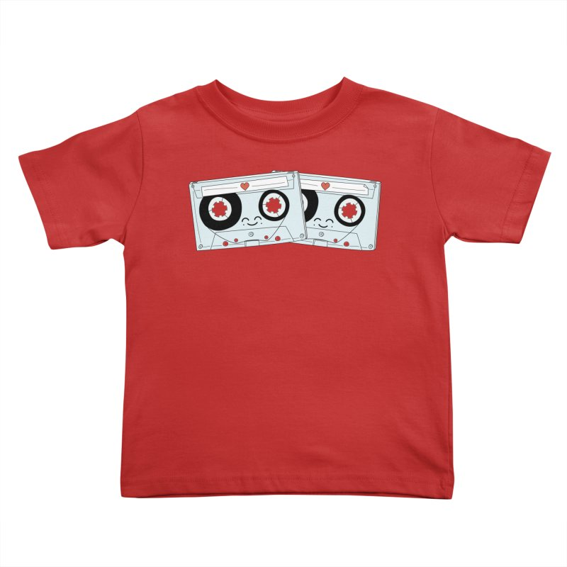 Let's Mix it Up Kids Toddler T-Shirt by Calobee Doodles