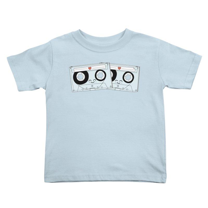 Let's Mix it Up Kids Toddler T-Shirt by Calobee Doodles