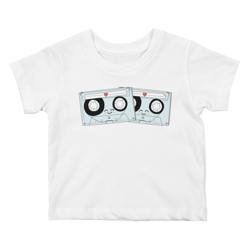 Let's Mix it Up Kids Baby T-Shirt by Calobee Doodles