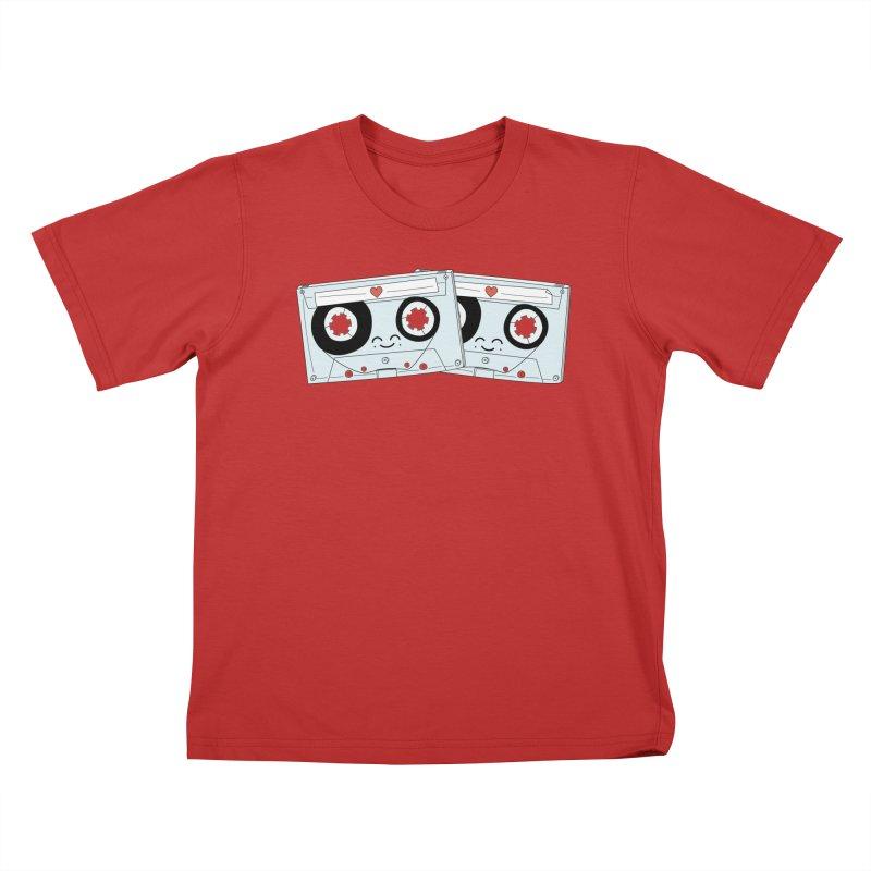 Let's Mix it Up Kids T-Shirt by Calobee Doodles