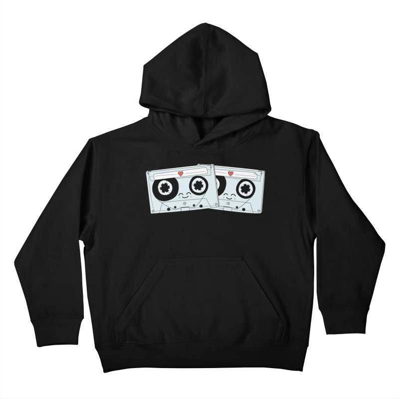 Let's Mix it Up Kids Pullover Hoody by Calobee Doodles