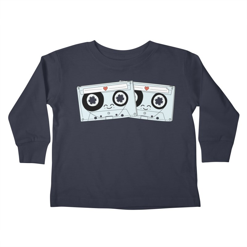 Let's Mix it Up Kids Toddler Longsleeve T-Shirt by Calobee Doodles