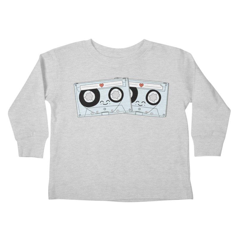 Let's Mix it Up Kids Toddler Longsleeve T-Shirt by Calobee Doodles