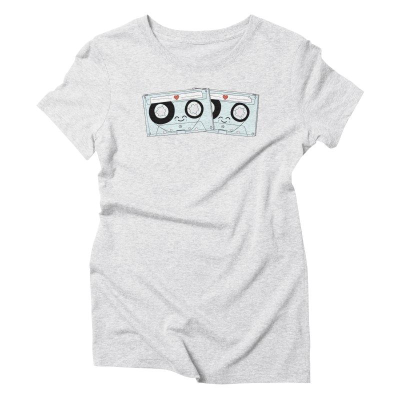Let's Mix it Up Women's Triblend T-Shirt by Calobee Doodles