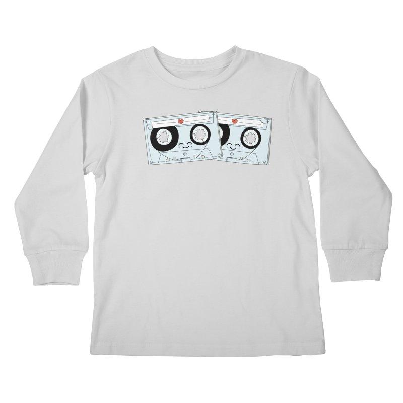 Let's Mix it Up Kids Longsleeve T-Shirt by Calobee Doodles