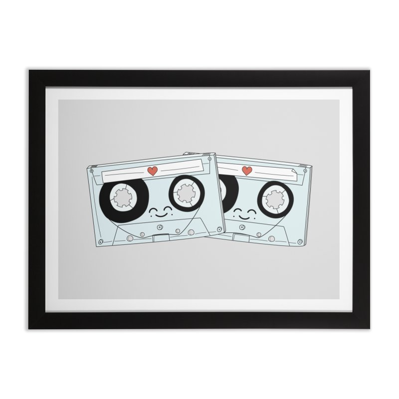 Let's Mix it Up Home Framed Fine Art Print by Calobee Doodles