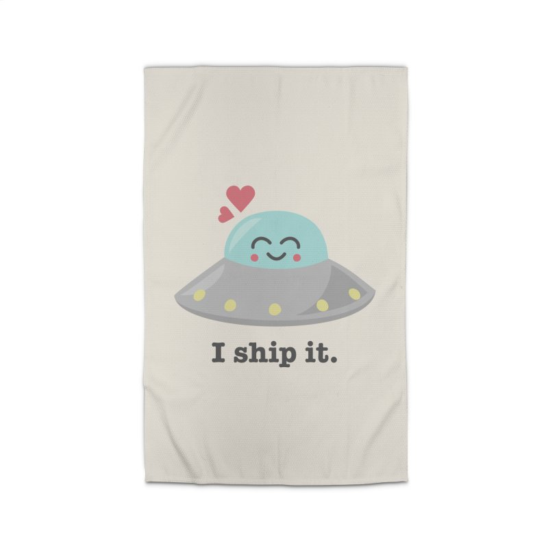 I ship it. Home Rug by Calobee Doodles