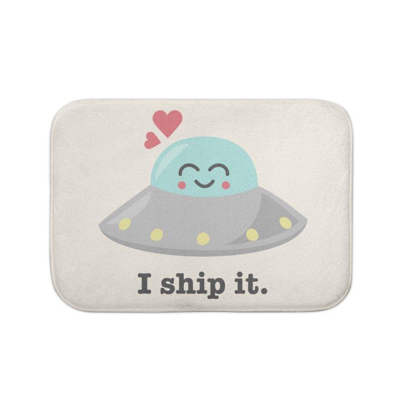 I ship it. Home Bath Mat by Calobee Doodles