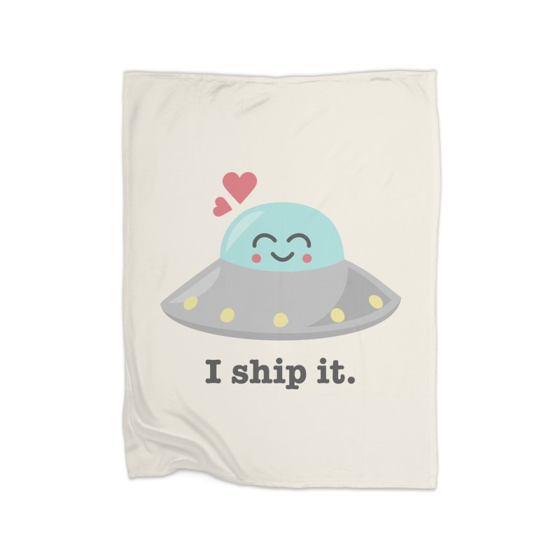 I ship it. Home Blanket by Calobee Doodles