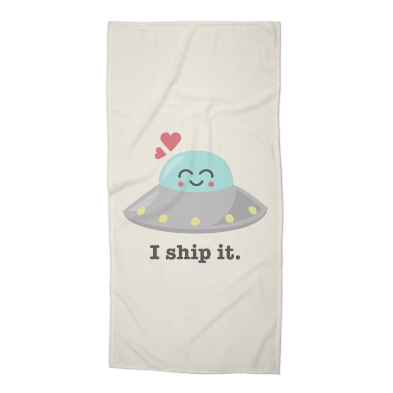 I ship it. Accessories Beach Towel by Calobee Doodles