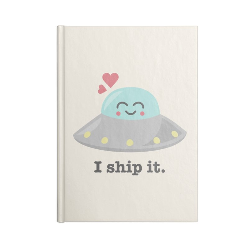 I ship it. Accessories Notebook by Calobee Doodles