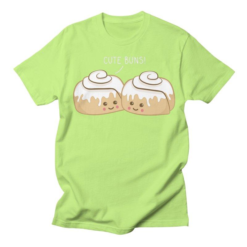 cute buns! Men's T-Shirt by Calobee Doodles