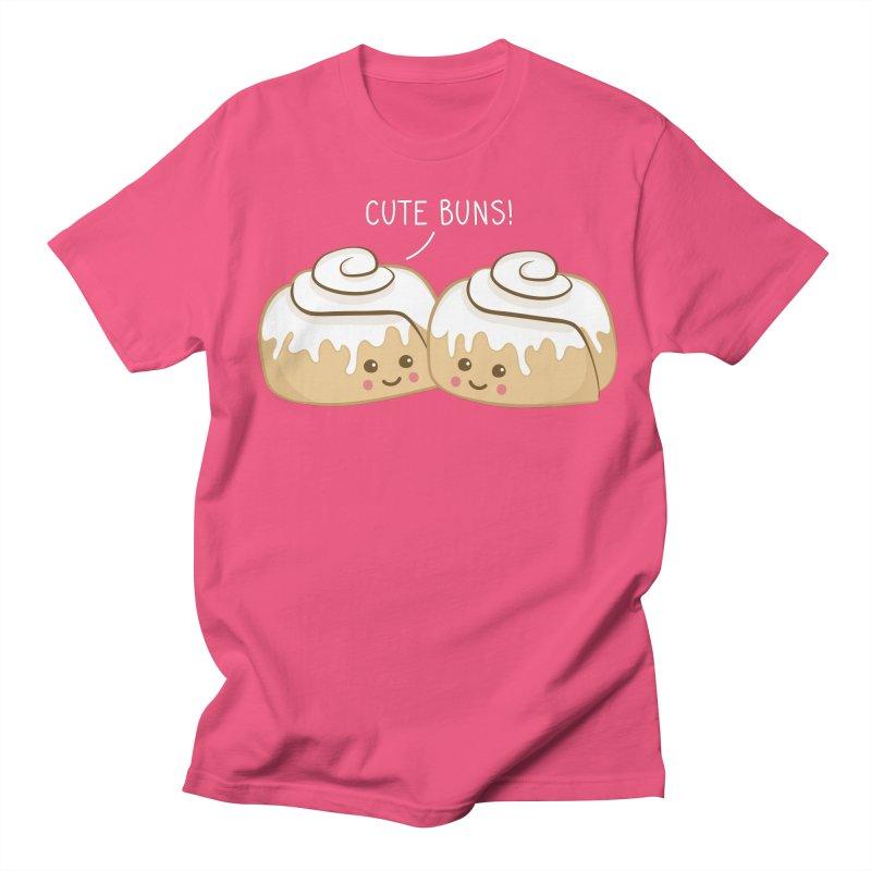 cute buns! Women's Unisex T-Shirt by Calobee Doodles
