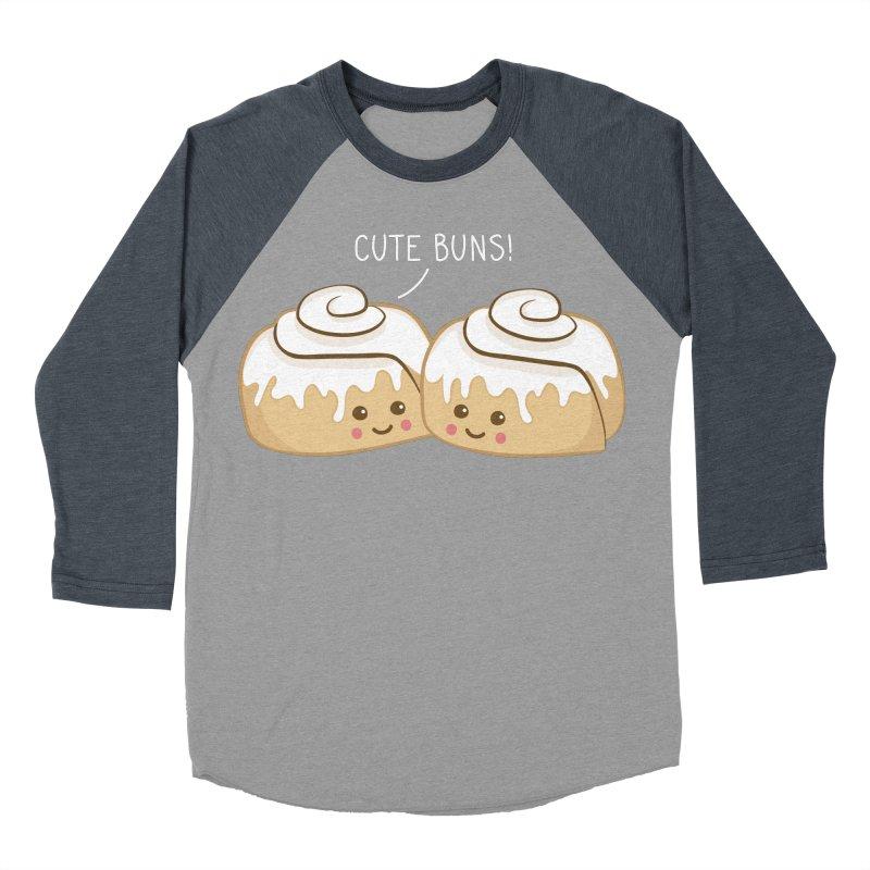 cute buns! Men's Baseball Triblend T-Shirt by Calobee Doodles