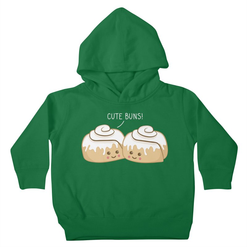 cute buns! Kids Toddler Pullover Hoody by Calobee Doodles