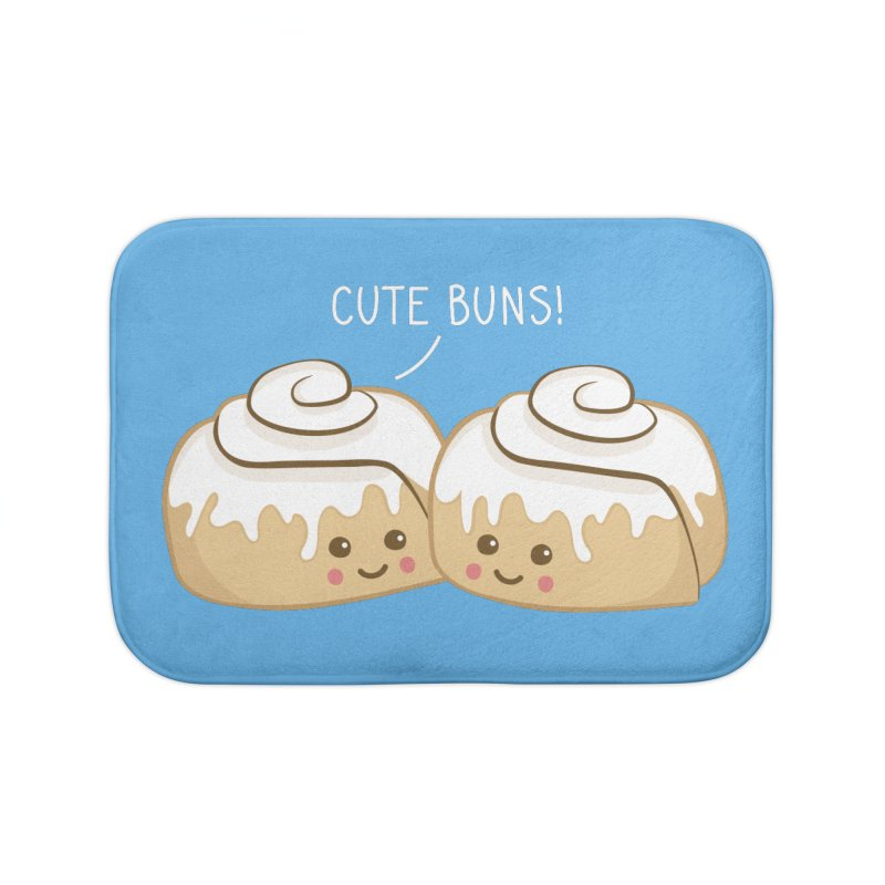 cute buns! Home Bath Mat by Calobee Doodles